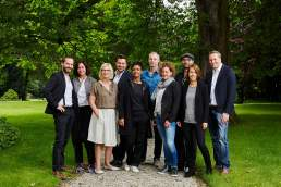 International Emmy Jury Group Portrait Cologne