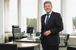 Werbefotografie des Managers im Business, Location: Köln