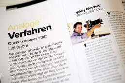 Werbefotograf Valery Kloubert im Interview mit dem Fachmagazin Profifoto aus Düsseldorf