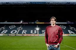 Borussia Mönchengladbach Torwart Yann Sommer Fotografiert im Borussia Park