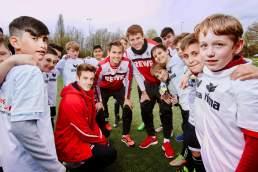 1.FC Köln Gasttraining SV Westhoven Ensen Köln Bundesliga