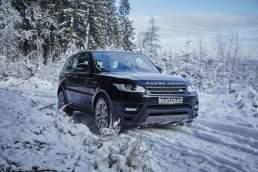 Matzker Range Rover Sport Schnee