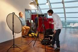 Meinungsbilder DKMS Prof. Dr. Grönemeyer Starportrait MakingOf